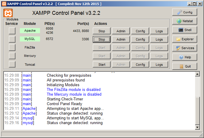 local xampp 02