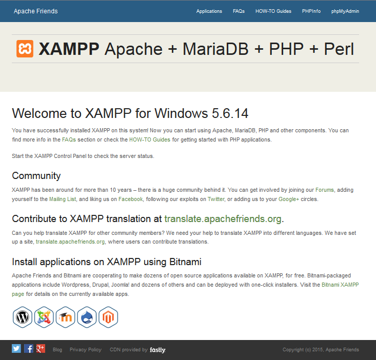 local xampp 03